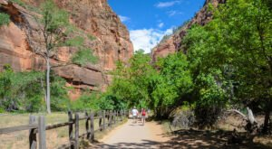 An Easy But Gorgeous Hike, The Riverside Walk Leads To A Little-Known River In Utah