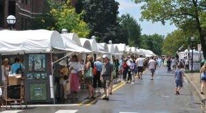The Ann Arbor Art Fair In Michigan Features Over 30 Blocks Of Creative Fun