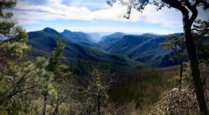 Explore Miles Of Unparalleled Views Of Mountains On The Scenic Hike In North Carolina