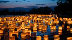 This Summer, The Water Lantern Festival Will Light Up The Night In Ohio