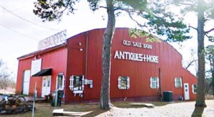 Absolutely Gigantic, You Could Easily Spend All Day Shopping At The Barn Shoppes In Arkansas