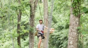 Adrenaline And Animal Lovers Will Have A Blast At Magnolia Ridge Adventure Park In Louisiana