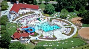 Go Boating On A Lagoon, Splash At The Water Park, And More At Mineral Spring Park In Illinois