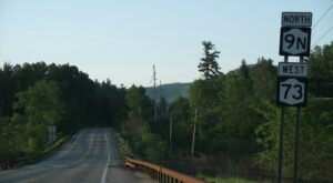 Hop In Your Car And Take High Peaks Scenic Byway For An Incredible 27-Mile Scenic Drive In New York