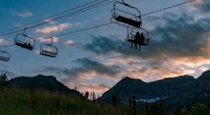 Soak In The Starry Sky On The Full Moon Lift Ride At Sundance, Utah This Summer