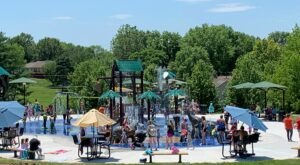 There's A Jungle Themed Playground And Splash Pad In Missouri Called The Splash Pad