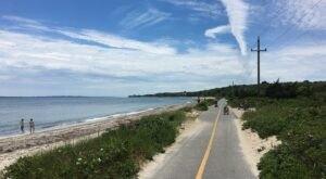 Walk Or Ride Alongside The Ocean On The 11-Mile Shining Sea Bikeway In Massachusetts