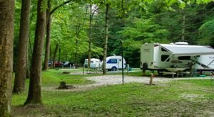 The Whole Family Will Love A Visit To The Riverside Natural Bridge State Resort Park Campgrounds In Kentucky