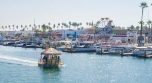 You Can Cruise Around Newport Beach On This Floating Tiki Bar In Southern California