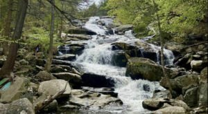 Hike Less Than Half A Mile To This Spectacular Waterfall In Massachusetts