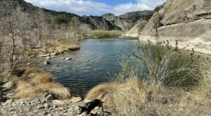 Hike Exactly Half A Mile To This Popular Swimming Hole In Southern California