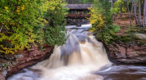 Wisconsin's Amnicon Falls And Campground Loop Trail Leads To A Magnificent Hidden Oasis