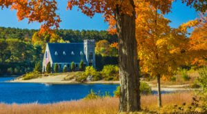 Old Stone Church May Be One Of The Most Peaceful And Scenic Spots In Massachusetts