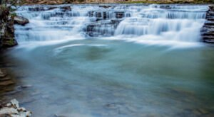 Hike Less Than Half A Mile To This Spectacular Waterfall Swimming Hole In West Virginia