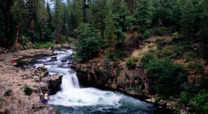 The McCloud Falls Swimming Hole In Northern California Is One Of The Best In The U.S.