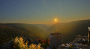 Lindy Point Overlook Boasts One Of The Most Popular Views In West Virginia