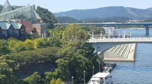 Walk Or Ride Alongside The Water On The 13-Mile Chattanooga Riverwalk in Tennessee
