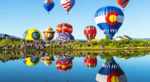 Hot Air Balloons Will Be Soaring At Colorado's 40th Annual Hot Air Balloon Rodeo