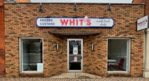 The Frozen Custard At Whit's In Michigan Is Made Fresh Daily And You'll Be Back For Seconds