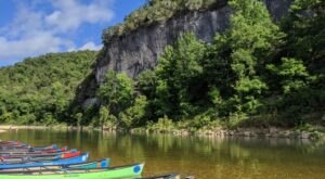 From Beaches To Bluffs This Arkansas Paddle Trail Will Float You To The Prettiest Scenery