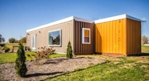 Stay Overnight In An Old Shipping Container That's Now A Gorgeous Wisconsin Rental Home