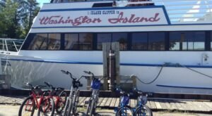 Take Your Bike On The Island Clipper In Wisconsin For An Island Ride Like No Other