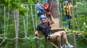 Take A Ride On The Longest Racing Zipline In Wisconsin At The Chula Vista Resort