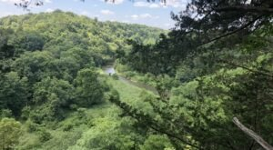 Iowa's Whitewater Canyon Trail Leads To A Magnificent Hidden Oasis