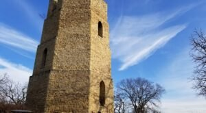 Hike to The Ruins of An Abandoned Stone Water Tower To Drink In The Best Views Of Beloit, Wisconsin