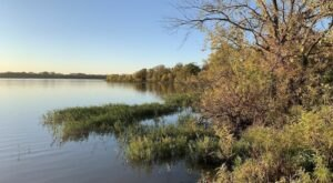 Hike to the Santa Fe Lake Waterfall For The Most Magical Views In Kansas