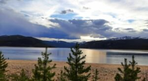 Visit Turquoise Lake Trail In Colorado, A Hidden Gem Beach Trail That Has Its Very Own Waterfall