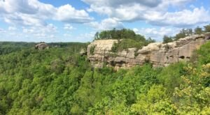 This 5-Mile Loop Trail Offers Some Of The Best Views In Red River Gorge In Kentucky