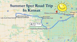 Drive To 7 Incredible Summer Spots Throughout Kansas On This Scenic Weekend Road Trip