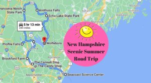 Drive To 9 Incredible Summer Spots Throughout New Hampshire On This Scenic Weekend Road Trip