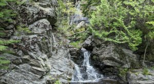 Take A Magical Waterfall Hike In Maine To Dunn Falls, If You Can Find It