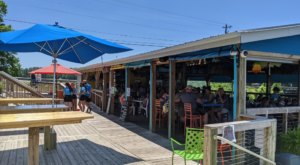 Located Right On The Shores Of Lake Gaston, Shady Shack Bar & Grill In Virginia Has A Lovable And Laid-Back Atmosphere