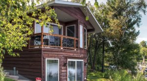 Have A Northern Minnesota Adventure With A Stay In This Gorgeous Lakefront Cabin In Brainerd