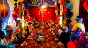 The Alice In Wonderland-Themed Adult Tea Party In Florida Is Most Magical