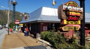 For Authentic Tennessee Barbecue, It Doesn't Get Much Better Than Bones BBQ Joint In Gatlinburg