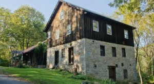 Stay The Night In A Repurposed 18th-Century Watermill At The Grist Mill Cabin In Virginia