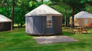 Rent Your Own Yurt In The Mountains At Pine Mountain RV Resort In Georgia