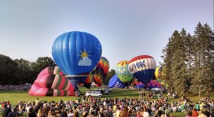 Spend The Day At This Hot Air Balloon Festival Near Detroit For A Uniquely Colorful Experience