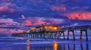The Seafood-Centric Eatery Crabby Joe's In Florida Is Situated Right Over The Atlantic