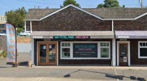 Waterland Arcade Bar Is A Charming Neighborhood Arcade By The Beach In Washington