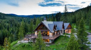 This Sprawling Montana Mountain Chateau Is The Only Place You'll Want To Be This Summer