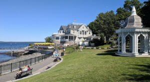Walk Or Ride Alongside The Ocean On The 1.5-Mile Bar Harbor Shore Path In Maine