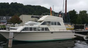 Spend The Night On Beautiful Betsie Bay When You Rent This Cozy Yacht In Michigan