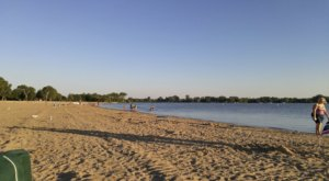 Sink Your Toes In The Sand At The Longest Beach Near Detroit