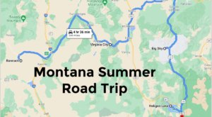 Drive To 5 Incredible Summer Spots Throughout Montana On This Scenic Weekend Road Trip