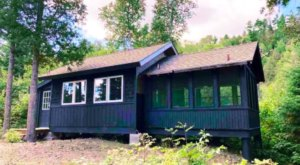 Enjoy 700 Feet Of Lakeshore All To Yourself With A Stay In This Off-The-Grid Cabin In Minnesota